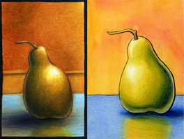 A Pair of Pears by DelusionInABox