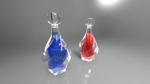 Glass: Potions 1 by Laitz