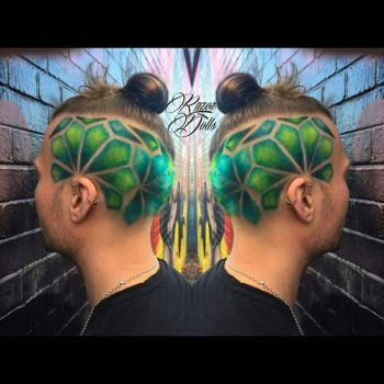hairdesign green by AngeLee-Loo