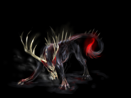 Hellhound by ShadowCorvus