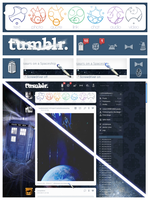 Ultimate Whovian dashboard for Tumblr by ryoshi-un