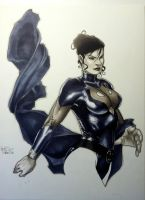 Night Girl Con Sketch by RichardCox
