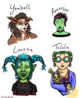 Warcraft Wenches by TigrisTheLynx