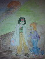 Misty and Tracey Taking a Stroll (Pokemon) by Wizardmon-101