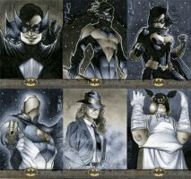 Batman: The Legend Sketch Cards 04 by RichardCox