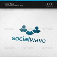 Social Wave Logo by artnook