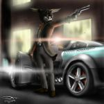 SkyFall - ART-Trade with Inkantlers by Unreal-Forever