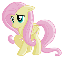 Fluttershy Digital Drawing by techs181
