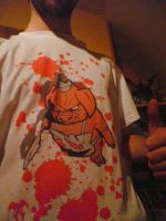 Bloody Pig T-shirt by Horlod