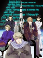 HETALIA: Space Travel by yasaka-unabara