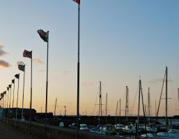 Harbour Flags by EveryDayIsNewToMe