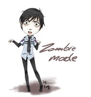 Zombie mode xD by Angrenereg