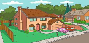 742 Evergreen Terrace by NY-Disney-fan1955