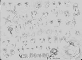 50 expressions by SecretButterfly