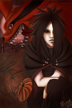 Uchiha Madara by ManaSaya