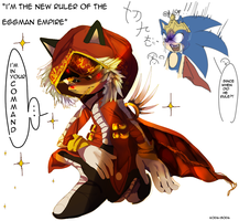 KING -hedgie- ROBOTNIK by koda-soda