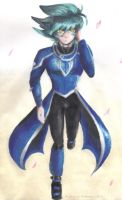 Hell Johan Andersen in Obelisk Blue uniform design by Zephyr-of-Darkness