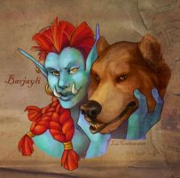 Barjayli by aureath