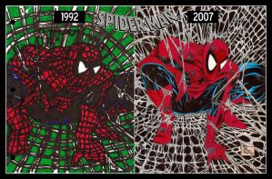 Todd McFarlane's Spider-Man: Then and Now by JohnVichlenski