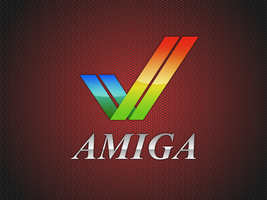 Amiga Logo Wallpaper by ZanaGB