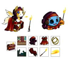 Sideshow Superpack Outfits and Items by ChaosKomori