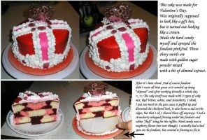 Valentine Cake by LunarBerry