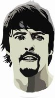 Dave Grohl Vector by Lord-of-the-crayons