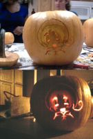 Pumpkin Carving Fun by Miche-the-Belle
