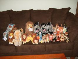 Misc Lion King Plushies by Itachislilgirl