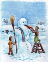 Gandalf the Snowy-white by matejcadil
