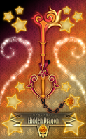 Keyblade Hidden Dragon by Marduk-Kurios