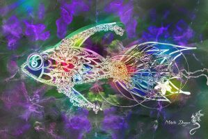 Multicoloured Fish by DragonOfLust