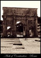 Arch of Constantine by terresebatate