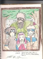 Team Kakashi by rosethorns90