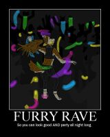 FURRY RAVE by SanguineJustice
