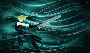 Cloud Strife by claudiiie