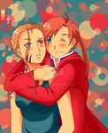 Color Pallete Challenge-Alphonse and Martel by Mira-chii