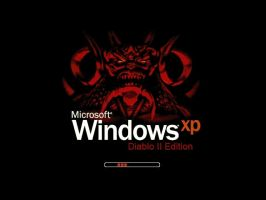 Windows XP Diablo 2 Edition by LordDiablo006