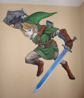 Link mural by NegativeSanction