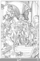 X-men 1 cvr variant-pencils by ElVlasco