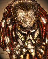 predator_face_of_death_by_vandalocomics by Xeno-Crazy