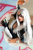 Black Cat is so cool by Giorgiacosplay