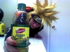 Green Tea product placement by KeruptedGaara10