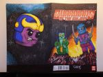 Project Mini Guardians Sketch Cover by madman1
