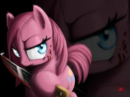 Dark Pinkie Pie Wallpaper Non-Widescreen by Locolimo