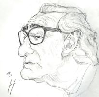 Martin Scorsese by jEROMEaNIMATIONS