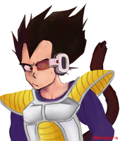 Vegeta by Kinggore