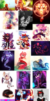 Huge Art Dump by aechia
