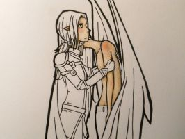 Bahadur and Syrhifell WIP by Despereaux-7