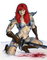 Red Sonja 3 by gattadonna